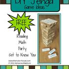 DIY Jenga Game Ideas