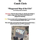 DIY by Coach Chris - USA Playground Map