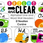 DN Cursive Alphabet Line (Bright &amp; Clear Decor)