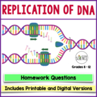 DNA (Deoxyribonucleic Acid) Homework Assignment Replication