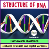 DNA (Deoxyribonucleic Acid) Homework Assignment (The Basics)