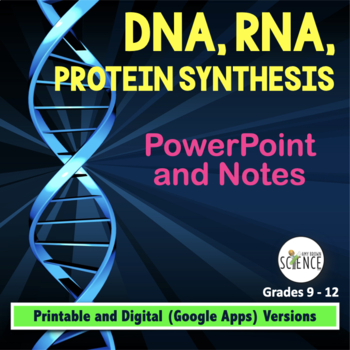 DNA (Deoxyribonucleic Acid), RNA, Protein Synthesis Powerp