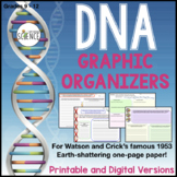 DNA Informational Text (Watson and Crick Paper) with Graph