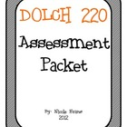 DOLCH 220 Assessment Packet