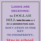 DOLLAR BILL AND EDUCATION