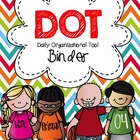 DOT Binder Cover {Editable}