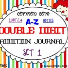 DOUBLE DIGIT ADDITION JOURNAL