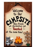 DRAMATIC PLAY THEME SIGNS-Camping