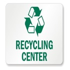 DRAMATIC PLAY THEME SIGNS - Recycling Center