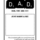 Dad #1 Father&#039;s Day card