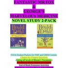 Dahl 2-pack: Fantastic Mr Fox & George's Marvelous Medicin