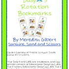 Daily 5 (3) Rotation Bookmarks