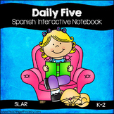 Daily 5 Interactive Notebook in Spanish