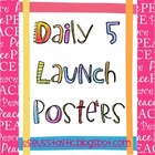 Daily 5 Launch Posters (FREEBIE)