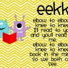 Daily 5 Monster Themed EEKK, I Pick, and 3 Ways to Read a