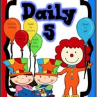 Daily 5 Posters Circus Theme