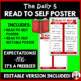 Daily 5 Read To Self Intermediate Poster I Chart