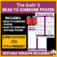 Daily 5 Read To Someone Intermediate Poster I Chart