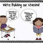 Daily 5 Stamina Building (Interactive Anchor Chart)