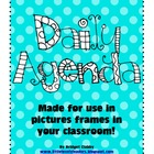 Daily Agenda Sheets for Picture Frames - Custom Order