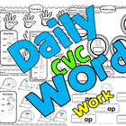 Daily CVC Word Work Short A