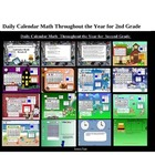 Daily Calendar Math Throughout the Year 2nd gr. Smart Note