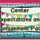 Daily Centers Expectations Pack