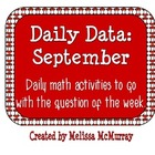 Daily Data and Question of the Week for September