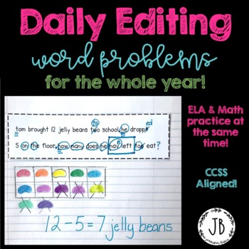 Daily Editing Word Problems