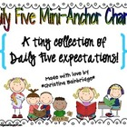 Daily Five Mini-Anchor Charts