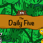 Daily Five Poster / Safari Jungle Animal / Elementary Clas