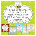Daily Graph Printables Value Pack - A Graph Question for E