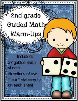 http://www.teacherspayteachers.com/Product/Daily-Guided-Math-Warm-Ups-Second-Grade-Edition-1340043