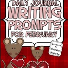 Daily Journal Writing Prompts ~ February & Valentine  {Com