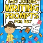 Daily Journal Writing Prompts ~ May &amp; Spring  {Common Core
