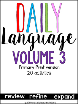 Daily Language 3