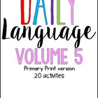 Daily Language 4