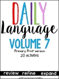 Daily Language 6