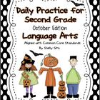 Daily Language Arts Practice for Second Grade (October & N