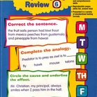 Daily Language Review Grade 6 by Evan Moor Language Arts BOOK
