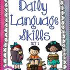 Daily Language Skills {Set 1}