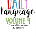 Daily Language Winter Warm Up