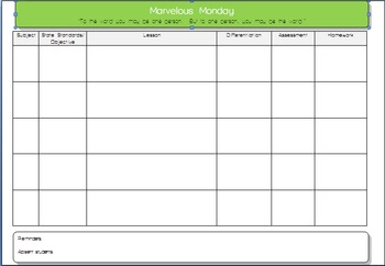 Daily Multi Lesson Plan   External Image Original 151244 1  Daily Lesson Plan Template Word