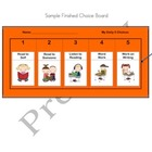 Daily Literacy Jobs - Choice Boards-Resource for Managing 