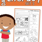Daily Literacy Morning Work - Set 3 (Sight Words / Beginni
