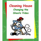 Daily Living Skills--Cleaning House--Changing the Sheets