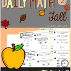 Daily Math 2 (Fall) Fourth Grade
