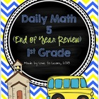 Daily Math 5 (End of Year Review) First Grade