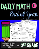 Daily Math 5 (End of Year Review) Third Grade