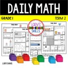 Daily Math - Common Core - Grade 1 - Term 2